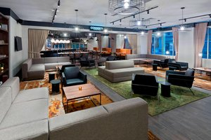 Bar - Courtyard by Marriott Hotel Fort Wayne Downtown