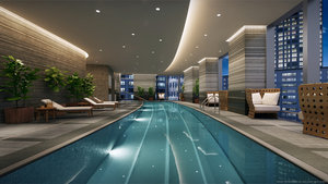 Pool - Four Seasons Hotel One Dalton Street Boston
