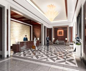 Lobby - Four Seasons Hotel One Dalton Street Boston
