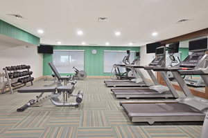 Fitness/ Exercise Room - Holiday Inn Express Hotel & Suites Uniontown