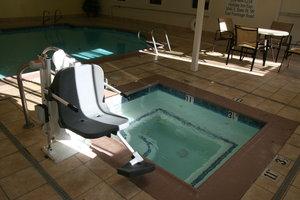 Pool - Holiday Inn Express Stockton