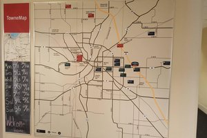 Map - TownePlace Suites by Marriott Lafayette