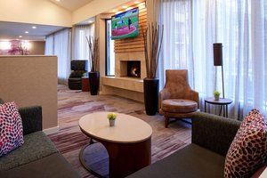 Lobby - Courtyard by Marriott Hotel Detroit Airport Romulus