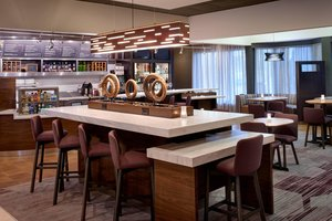 Restaurant - Courtyard by Marriott Hotel Detroit Airport Romulus