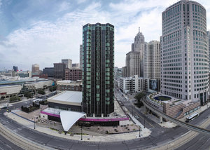 Exterior view - Crowne Plaza Downtown Convention Center Hotel Detroit