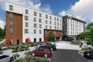 Exterior view - Courtyard by Marriott Hotel at Victories Square Petoskey