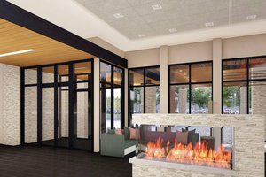 Lobby - Courtyard by Marriott Hotel at Victories Square Petoskey