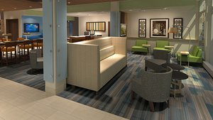 Lobby - Holiday Inn Express Hotel & Suites Ottawa
