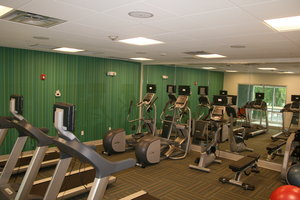 Fitness/ Exercise Room - Holiday Inn Express Hotel & Suites New Castle