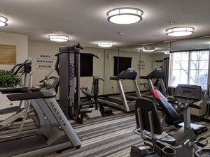 Fitness/ Exercise Room - Candlewood Suites Hampton