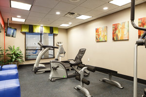 Fitness/ Exercise Room - Holiday Inn Express Hotel & Suites El Reno