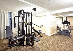 Fitness/ Exercise Room - Holiday Inn Tanglewood Roanoke