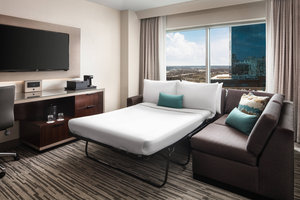 Suite - Marriott Hotel Downtown Indianapolis