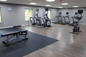 Fitness/ Exercise Room - Holiday Inn Express Hotel & Suites Shawnee