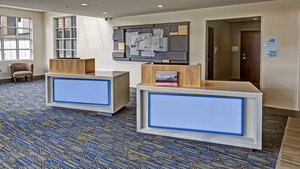 Lobby - Holiday Inn Express Airport Expo Center Louisville