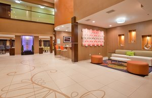 Lobby - Holiday Inn Express Hotel & Suites St Louis Airport