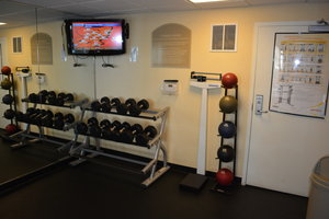 Fitness/ Exercise Room - Holiday Inn Hotel & Suites Beckley