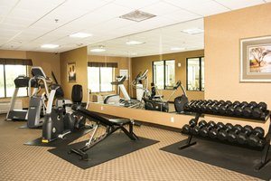 Fitness/ Exercise Room - Holiday Inn Express Hotel & Suites Mason City
