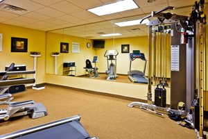 Fitness/ Exercise Room - Holiday Inn Express Hotel & Suites Germantown