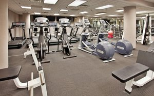Fitness/ Exercise Room - Holiday Inn Executive Center Columbia