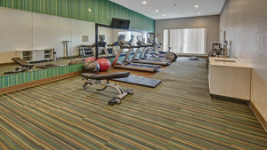 Fitness/ Exercise Room - Holiday Inn Express Hotel & Suites I-45 Corsicana