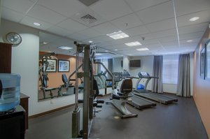 Fitness/ Exercise Room - Holiday Inn Express Hotel & Suites West Mobile