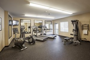 Fitness/ Exercise Room - Candlewood Suites Airport San Antonio