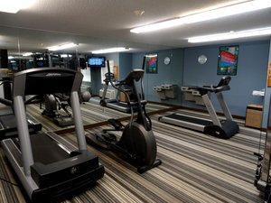 Fitness/ Exercise Room - Candlewood Suites Burlington