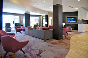 Lobby - Courtyard by Marriott Hotel Waltham