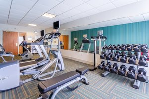 Fitness/ Exercise Room - Holiday Inn Express Hotel & Suites Cedar Falls
