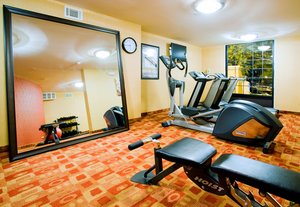 Fitness/ Exercise Room - Holiday Inn Express Downtown West Winston-Salem