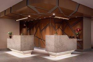 Lobby - Marriott Hotel Vancouver Airport Richmond