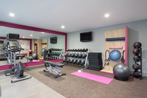 Fitness/ Exercise Room - Crowne Plaza Hotel Costa Mesa