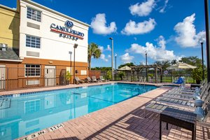 Pool - Candlewood Suites Airport Doral