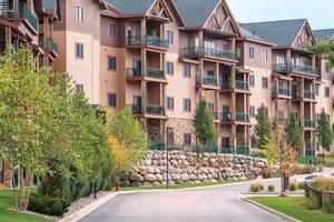 Exterior view - Club Wyndham Glacier Canyon Resort Baraboo