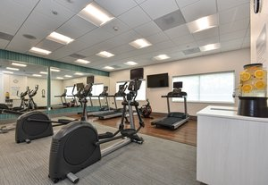 Fitness/ Exercise Room - Holiday Inn Express Hotel & Suites Ballantyne Charlotte