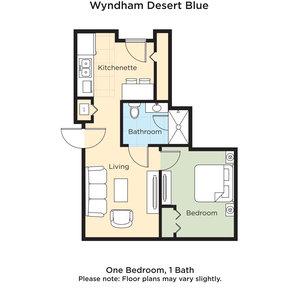 Suite - Wyndham Desert Blue Hotel Orleans Arena Las Vegas