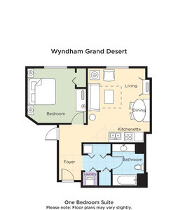 Room - Club Wyndham Grand Desert Hotel Las Vegas