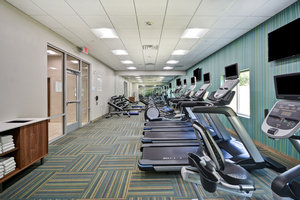 Fitness/ Exercise Room - Holiday Inn Express Hotel & Suites Boardwalk Area Seabrook