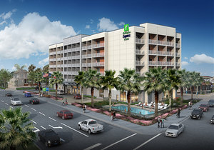 Exterior view - Holiday Inn Express Hotel & Suites Beachfront Galveston