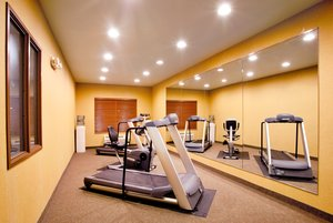 Fitness/ Exercise Room - Holiday Inn Express Hotel & Suites Mattoon