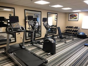 Fitness/ Exercise Room - Candlewood Suites Downtown Plano