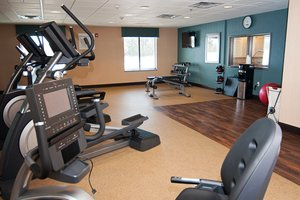 Fitness/ Exercise Room - Holiday Inn Express Hotel & Suites Northeast Wichita