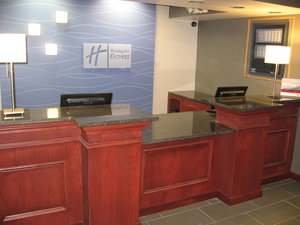 Lobby - Holiday Inn Express Painted Post