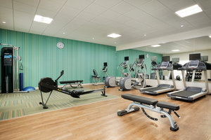 Fitness/ Exercise Room - Holiday Inn Express Hotel & Suites Medical Center McAllen