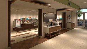 Restaurant - Holiday Inn Express Hotel & Suites Medical Center McAllen