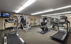 Fitness/ Exercise Room - Candlewood Suites Airport Savannah