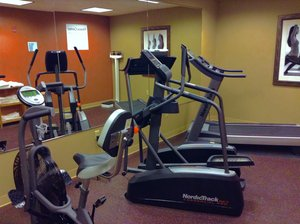 Fitness/ Exercise Room - Holiday Inn Express Hotel & Suites Winner