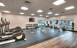 Fitness/ Exercise Room - Holiday Inn Express Hotel & Suites Southwest Gainesville