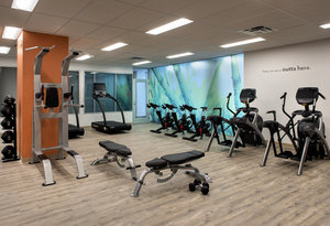 Fitness/ Exercise Room - Even Hotel Downtown Pittsburgh